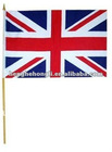 Uk british handheld flags