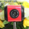 Red USB Webcam with microphone