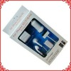 New design Portable 5 in 1 kit Cell Phone Travel Car Charger for iphone