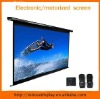 motorized screen electric screen with remote control projection screen