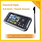 3.0 inch TFT LCD 16:9 Touch Screen Mp4 Player