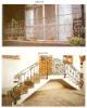 wrought iron stairways