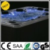 luxurious LED hot tub for outdoor jacuzzi