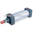 ISO6431 festo double acting pneumatic cylinder