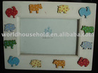 PF1085 animal zoo decorative wooden photo frame