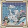 swimming pool ceramic/glass mosaic pattern tiles---