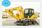 Small excavator/digging machine/excavator for sale/wheel excavator DLS100-9A