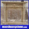 Offer marble fireplace