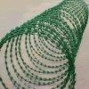 Factory of PVC razor barbed wire BTO-10