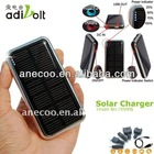 High capacity 3500mAh portable mobile phone solar charger