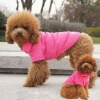 Pet Dog Polo Comfortable Pure Rose Red Color Polo T-shirts Pet Clothes Apparel