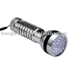 41LED Ultra Violet UV Lamp Torch Flashlight for Camping