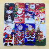 Christmas Tree Santa Claus PC Hard Case For iPhone 5 5G, Christmas Gift