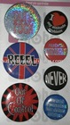 fashion badges ,metal badges with safety pin