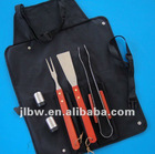 Easy Carry BBQ Tool Set in Clip Bag in Discount
