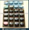 rubber keypad with PU coating
