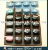 rubber keypad with PU coating