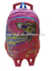 Trolley school bags in backpack for girls