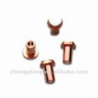 Bimetal Contact Rivets----an economical alternative to solid alloy contacts