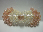 fashion crystal garment accessories for lady's clothes