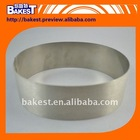 8 inch quality Stainless Steel Oval shaped cake Mousse Ring 8078-5