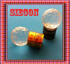 Hi quality Plastic Crystal wine bottle stoppers