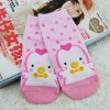 GJ-015 2011 fashional charming animal face sock with various novel designs available