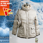 2012 WINTER NEW STYLISH LADIES DOWN FILLED JACKET WITH STOWED BAG
