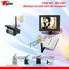 WS-2401 wireless kit with 4CH AV reception&transmission
