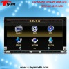 DVD-7035 7inch double din car dvd player with digital touchscreen