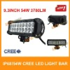 54w cree led light bar,led driving light,light bar for ATV/UTV/OFF ROAD CAR/MINING