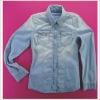 JEANEW denim woven Women's Jacket