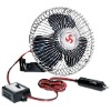 "8"" Oscillating Car Fan"