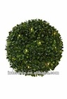 Hanging topiary bush solar light/Small Topiary Ball