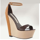 Pretty Steps 2012 Guangzhou wholesale high quality green open toe women wedge sandals