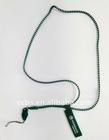 Blue Zipper Lanyard Necklace