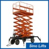 4W Mobile Electrical lift table Scissor lifts