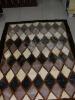 Champagne Color Diamond Design Carpet
