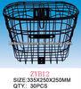 Steel Wire Bike Basket with Lid/Bike Part