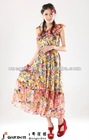 2012 Latest Design One-Shoulder Bohemian Maxi dress