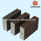 RY135S aluminum oxide foam abrasive sponge