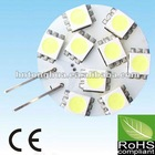 High quality G4 LED auto lamps 10-30V 9SMD 1W