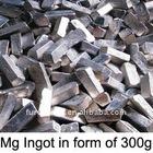 magnesium ingot in form of 100g, 300g