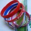 2012 Brand new silicone bracelets