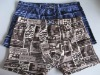 2012 printed Men's boxer shorts