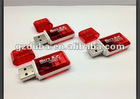 High Speed USB2.0 Hot-sale Mirco sd Card Reader Driver
