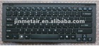 Replace new keyboard us black white for SONY VGN-CW laptop