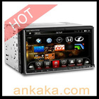 WinCE 6.0 & Android 2.3 Dualoperating system TFT Touchscreen 6.95 Inch 2 Din Car DVD player