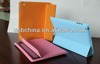 NEW design PU leather case Ipad Smart Cover with sleep mode