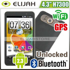 "Hero 4.3"" Android2.3 Dual sim dual camera Capacitive 3G GPS WIFI Bluetooth mobile phone"